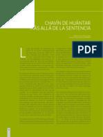 ChavindeHuantar Mas Alla de La Sentencia 2014 15