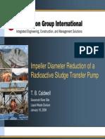 Pump Impeller Diameter Reduction