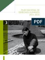 Plan Nacional DDHH 2014 15