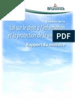 LDIExamen de la Loi sur le droit à l'information et la protection de la vie privée