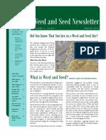 Newsletter March 2010