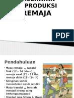 kesehatan reproduksi remaja perempuan ppt