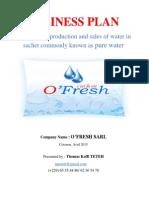 my pure water business plan- cotonou 25-08-2015