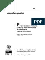 14 Procesos de Subcontratacion y Cambios en La Calificacion en Los Trabajadores