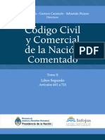 CCyC Nacion Comentado Tomo II - Desconocido