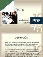 Unidad 5 Analisis y Valuacion de Puestos