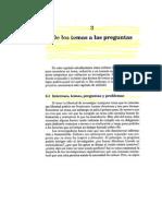 The Craft of Research Cap 3, 4 y 5 Español