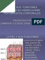 lapielsusfunciones-090510194938-phpapp01.ppt