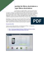 Copia de Seguridad de Libros Electrónicos