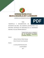 Peláez Sarango Jefferson Guillermo -Torres Suquilanda Klever Fernando