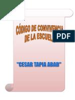 Codigo de Convivencia Esc. Cesar Tapia