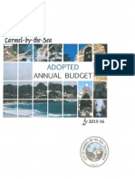 Carmel Adopted Annual Budget FY 2015-16