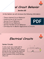 Electrical Circuit Behavior