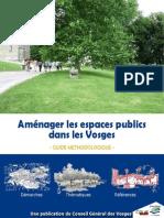 Amenagement Espaces Publics Vosges