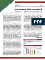 Finanssektorens digitalisering skal øge kundetillid