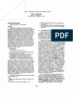 Toward a theory of test data selection