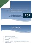 Curso Taller Formulación de Manual de Procedimientos (MAPRO) - FACULTADES