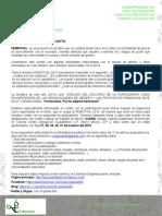 Carta Para Invitadxs Especiales Al FEMSTIVAL 2015