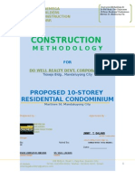 Ten Storey Construction Methodology