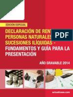 Cartilla P-07-2015 d.renta p.n. 2014