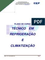 Plano de Curso Refrigeração & Climatização