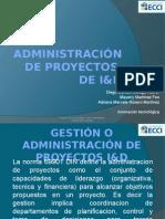 Administración de proyectos  I+D
