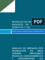 Modelos de Inundación Basados en Sensores Remotos y SIG