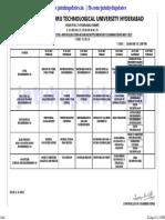 Jntuh BTECH 3-2 R09 Timetable