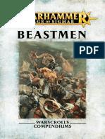 Warhammer Aos Beastmen Español