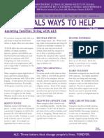 A closer look at ALS