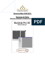 Manual Descarga de Datos Boretrack GCM 2015