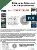Curso de Recepción e Inspecciones de calidad - Equipos Rotantes - HEE Consultores
