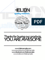 Helion Sample Pack Info