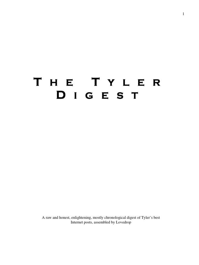 Tyler durden the tyler digest nonverbal communication emotions malvernweather Gallery