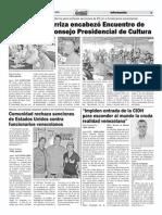 i Encuentro Del Conselo Presidencial de Cultura. 18-03.2015