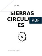Sierras Circulares..