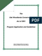 Oak Program Manual