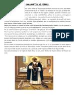 Sam Martín de Porres Biografia