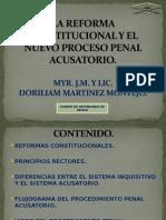 Articulos de La Reforma Constitucional en Materia Penal