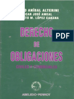 Derecho de Obligaciones - Atilio Alterini, Oscar Ameal y Roberto L Pez