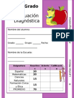 4to Grado - Diagnóstico.doc