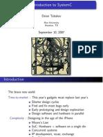 Intro SystemC P1