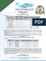 05 Bases de Futsalafase Municipal-Departamental