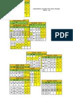 Calendario Escolar IES 15 -16