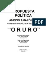 propuesta poder andino