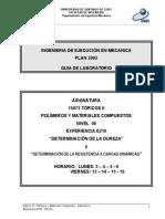 E210 Determinación de La Dureza y Resistencia a Cargas Dinámicas