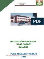 AVANCE PLAN ANUAL DE TRABAJO OFICIAL CARDO 2015.doc