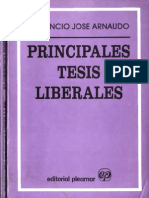 Arnaudo Jose - Principales Tesis Liberales