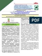 Información sobre la Campaña Ambiental 2015