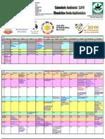 Calendario Ambiental 2016